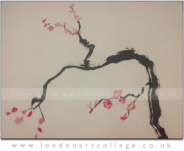 Senur-Bicer-41114-chinese-briush-painting