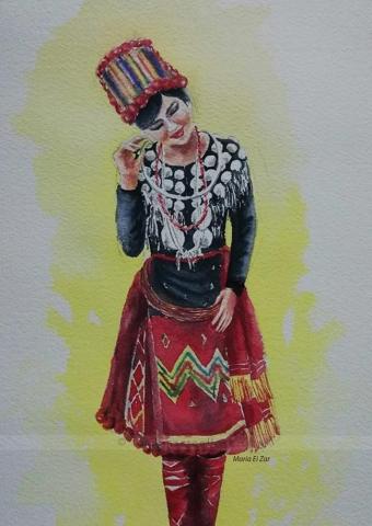 Kachin Lady