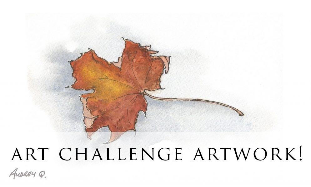 Weekend Challenge – Autumn Leaves Artwork