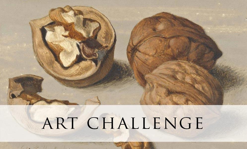 Weekend Art Challenge – Nuts!