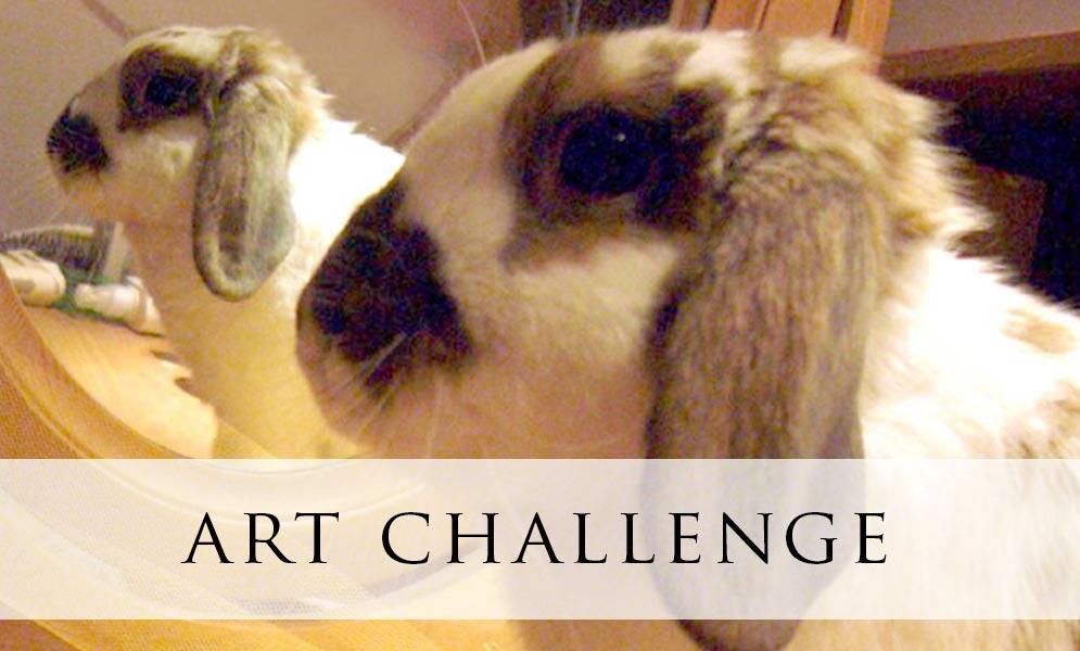 Weekend Art Challenge – Mirror Reflection