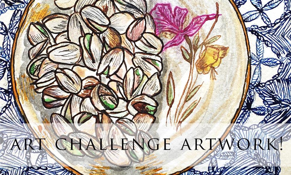Weekend Art Challenge – Nuts Artwork!