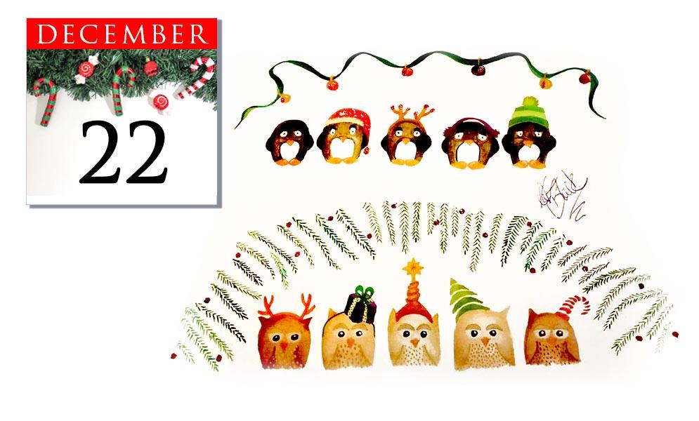 Advent Calendar December 22nd