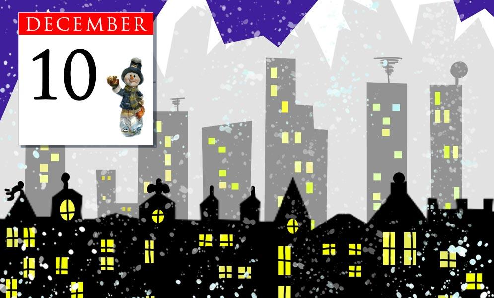Advent Calendar December 10th