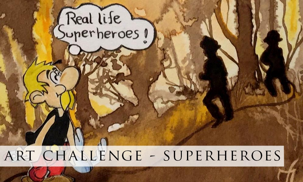 Weekend Challenge – Superheroes!