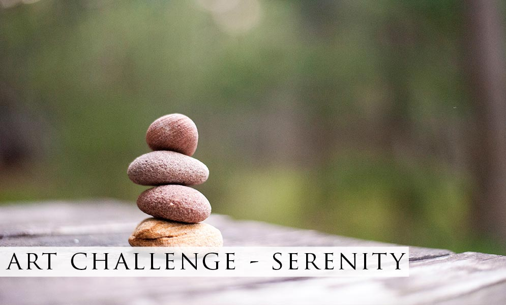 Weekend Art Challenge – Serenity