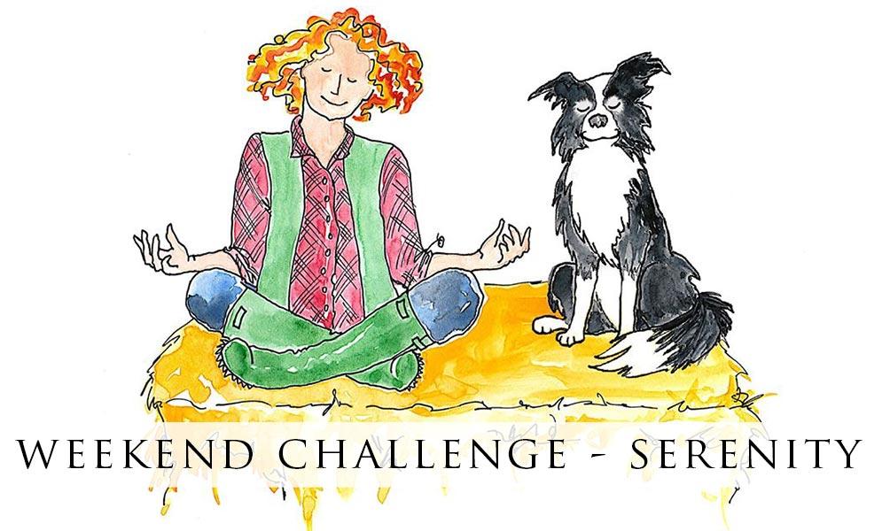 Weekend Challenge Artwork – Serenity