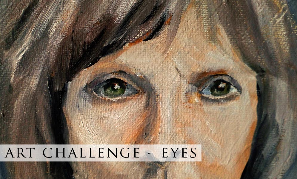 Weekend Art Challenge – Eyes Artwork!