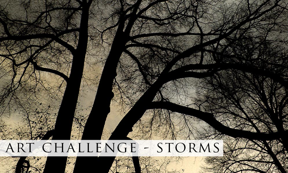 Weekend Art Challenge – Storms!