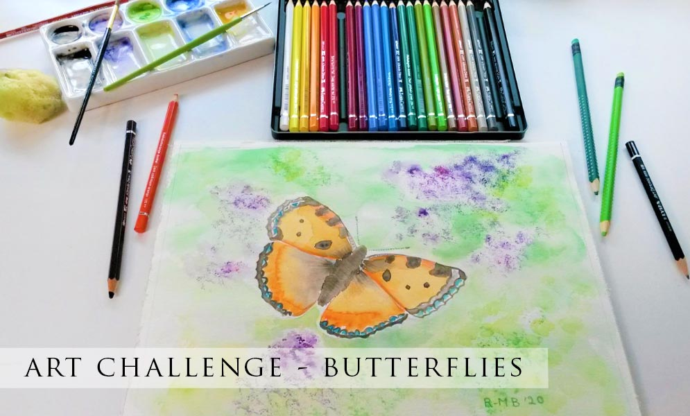 Weekend Art Challenge – Butterflies