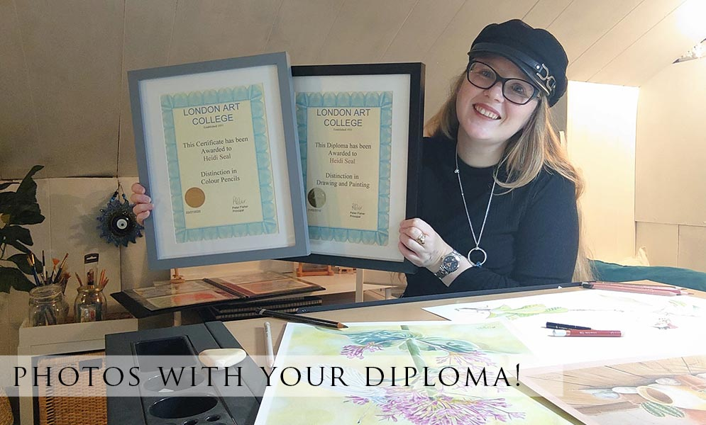 Photos with your Diploma!