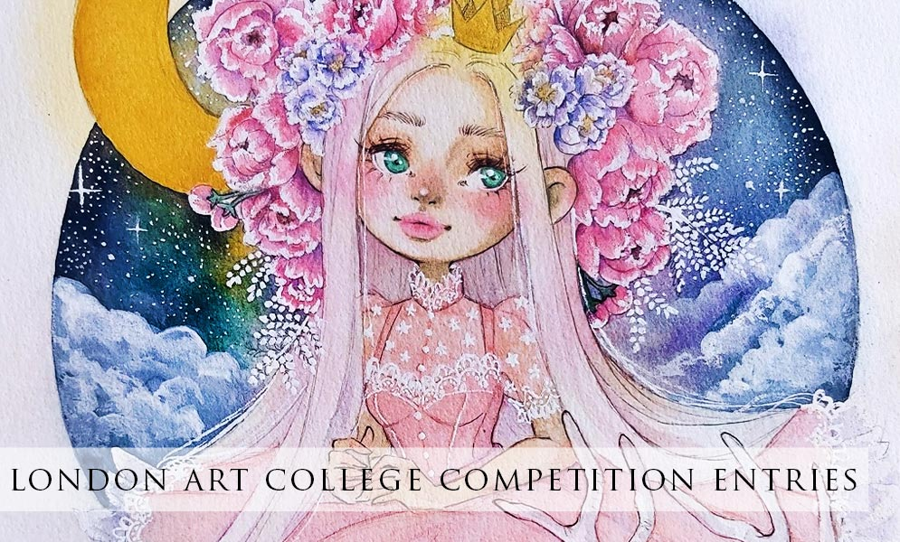 London Art College Art Competition Entries!