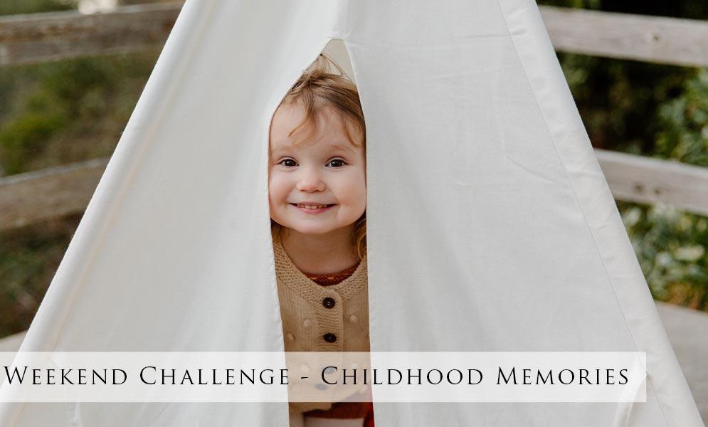 Weekend Art Challenge – Childhood Memories