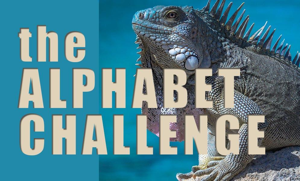 Weekend Art Challenge – Alphabet Challenge I