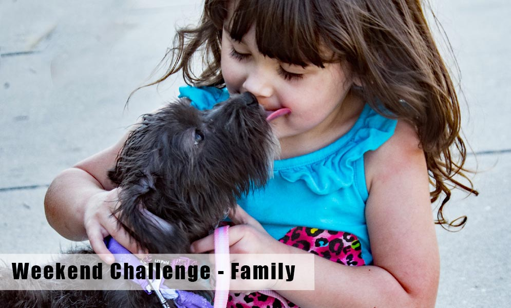 Weekend Challenge – Family
