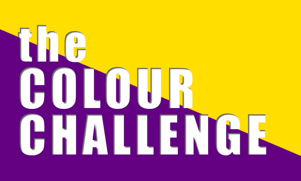 Weekend Challenge – The Colour Challenge