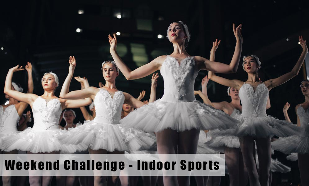 Weekend Art Challenge – Indoor Sports
