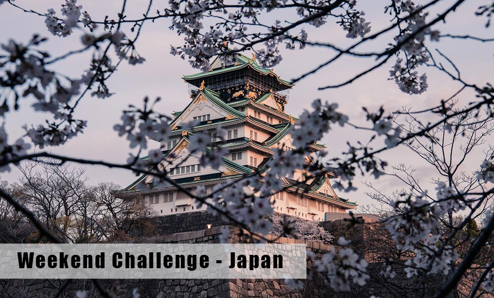 Weekend Challenge – Japan