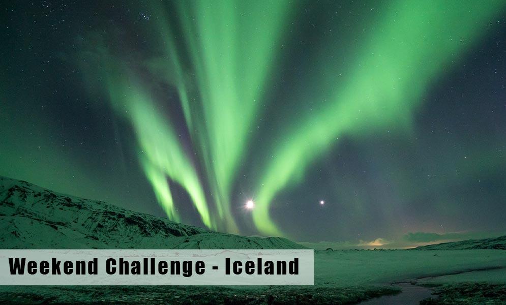 Weekend Challenge – Iceland