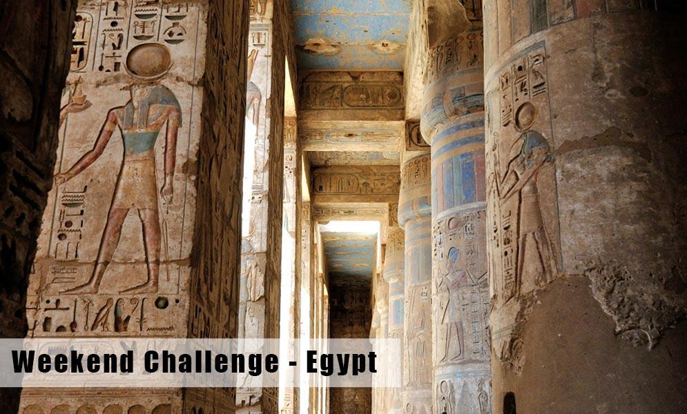 Weekend Art Challenge – Egypt