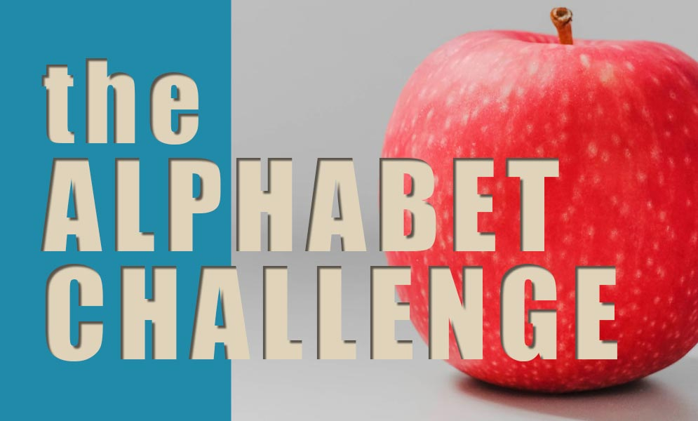 Weekend Challenge – Alphabet Challenge A