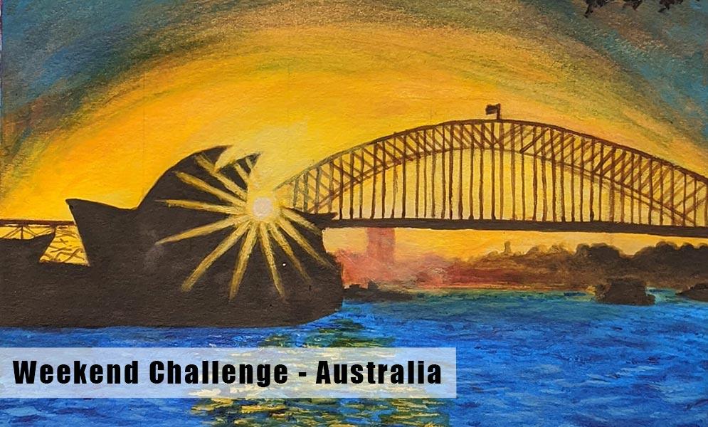 Weekend Challenge – Australia