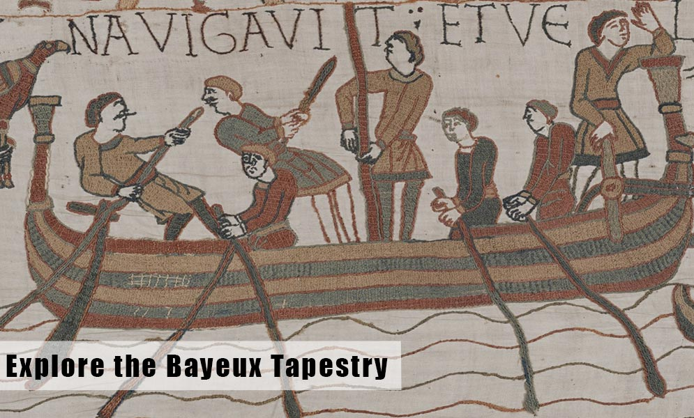 Explore the Bayeux Tapestry Online