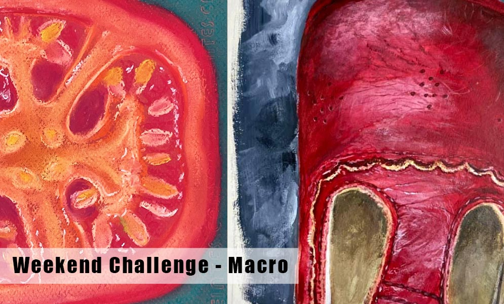 Weekend Art Challenge – Macro