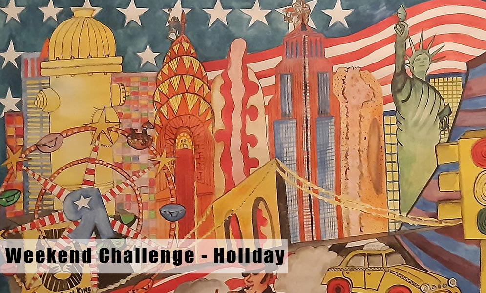 Weekend Art Challenge
