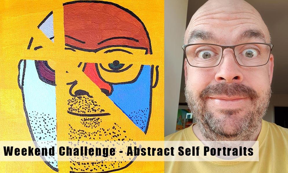 Weekend Challenge – Abstract Portraits