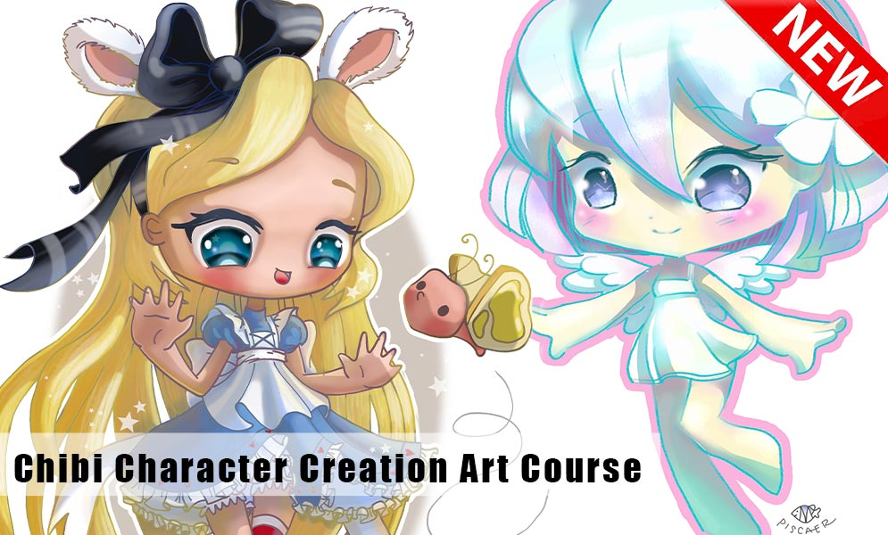 New Course! Chibi Character Creation Art Course