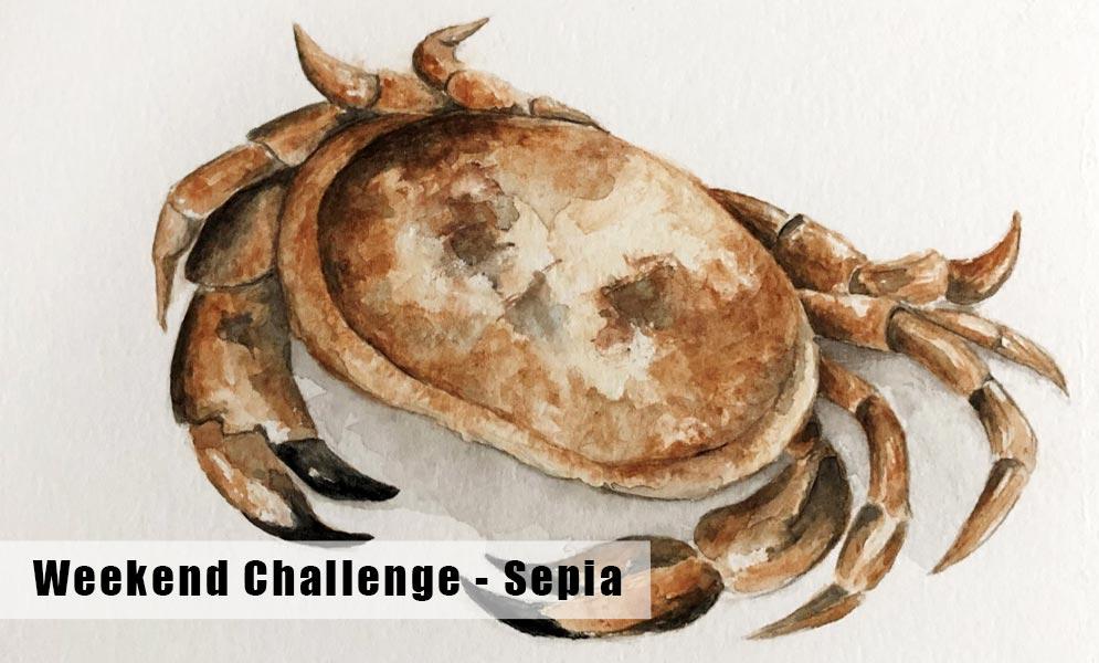 Weekend Art Challenge – Sepia