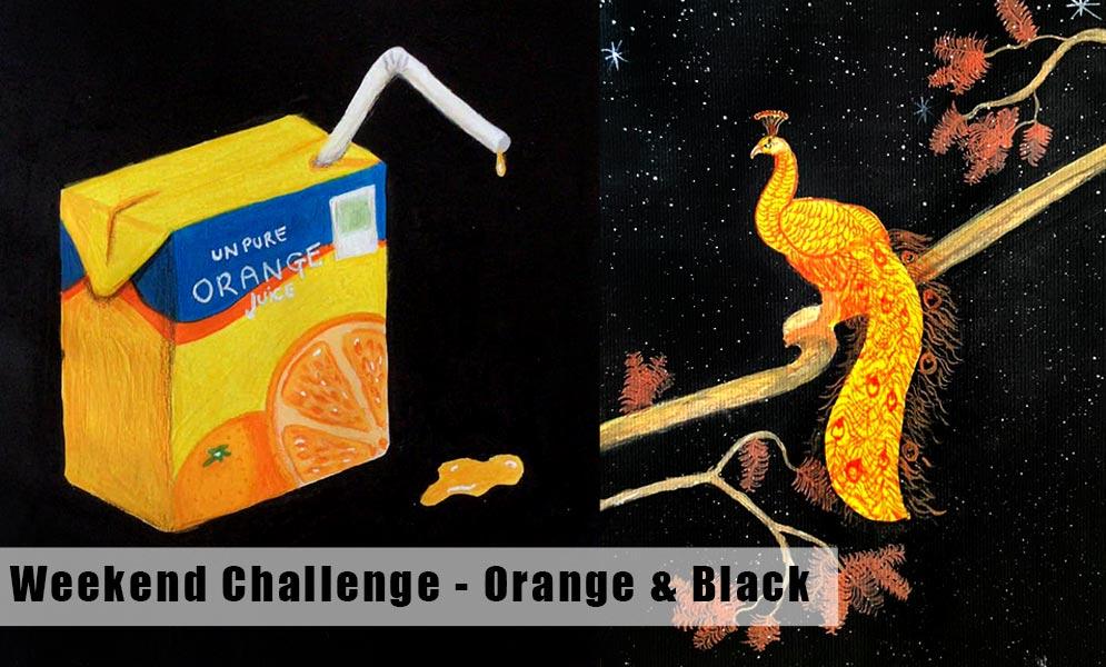 Weekend Art Challenge – Black
