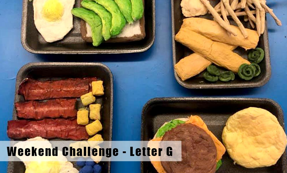 Weekend Art Challenge – Letter G