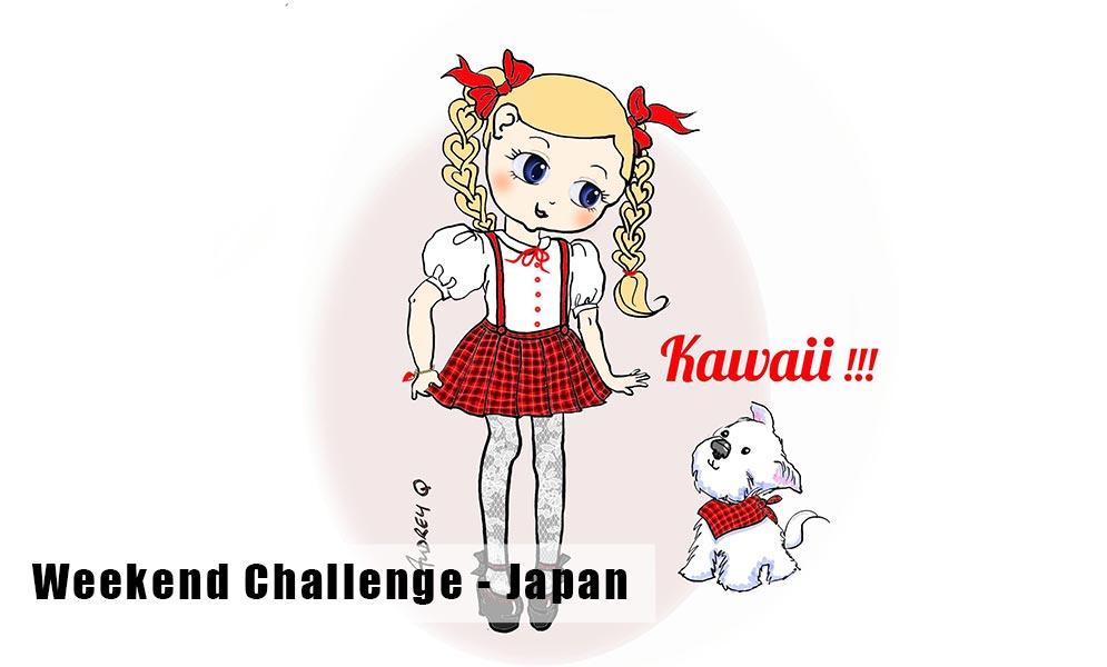 Weekend Art Challenge – Japan!