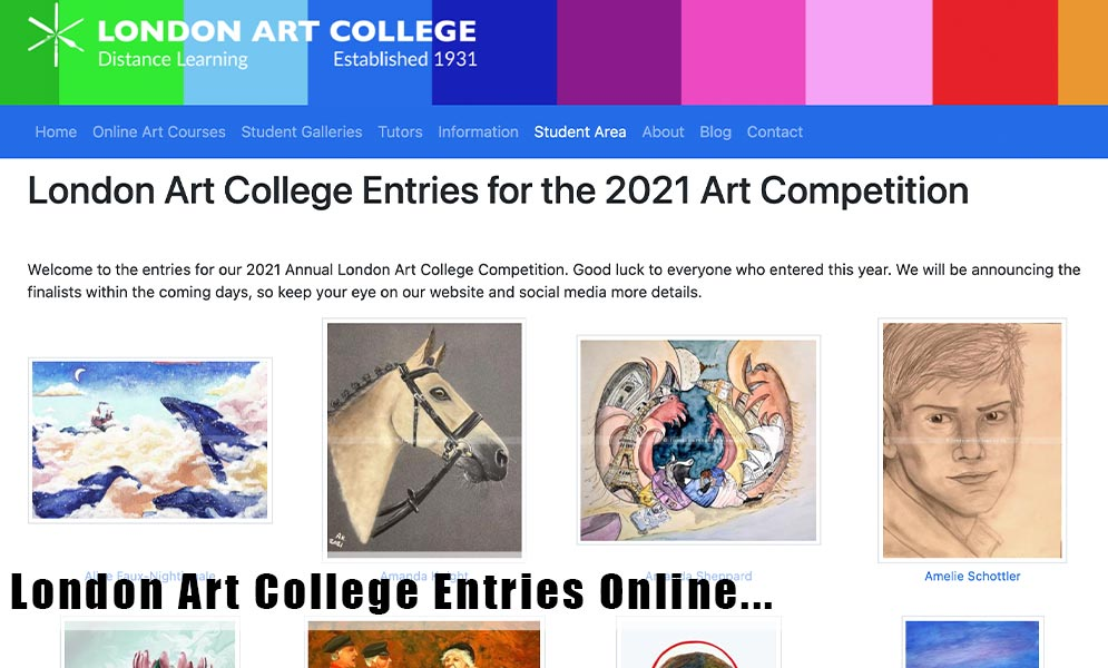 Competition Entries Online!