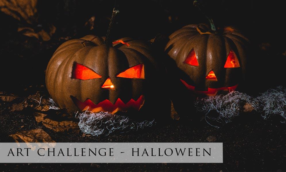 Weekend Art Challenge – Halloween 2021