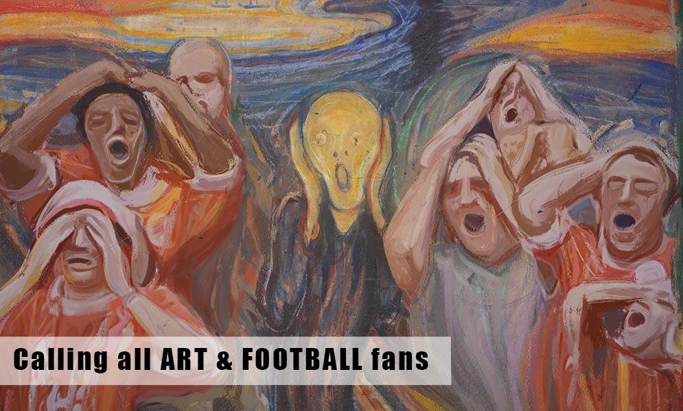 Calling all ART & FOOTBALL fans!